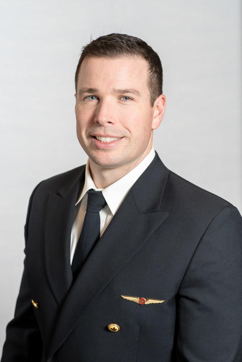 ACPA MEC Chair Elect, Captain Matt Hogan. (CNW Group/Air Canada Pilots Association)