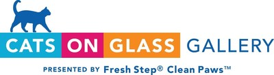 The Cats on Glass Gallery presented by Fresh Step® Clean Paws(TM) opens its doors on Feb. 15 for five days only. (PRNewsfoto/Fresh Step)