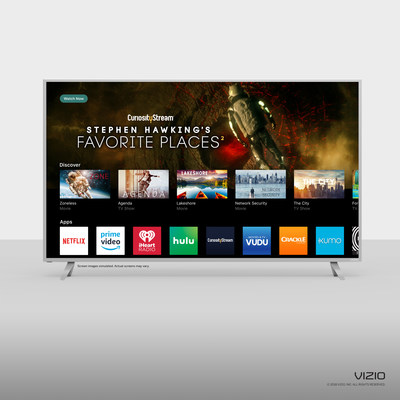 CuriosityStream to reach more viewers with new VIZIO SmartCast TV partnership