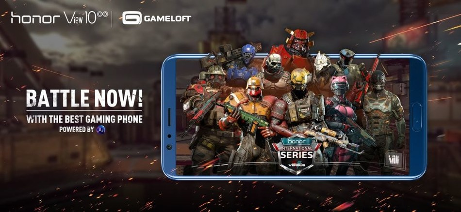 "Honor and Gameloft Launch ""Modern Combat Versus Honor International Series"" (PRNewsfoto/Honor)"