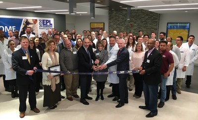 Mayor Kelly Burk joins the celebration of their new archival and biorepository facility in Leesburg, VA.