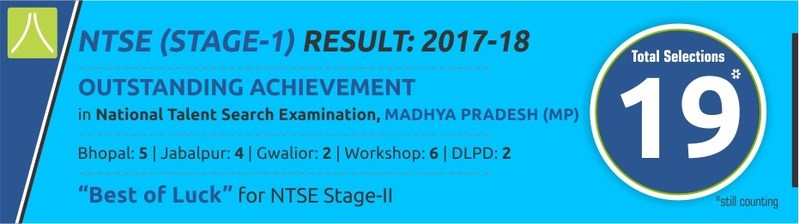 NTSE Stage 1 Results - Madhya Pradesh (PRNewsfoto/Resonance Eduventures Limted)