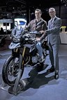 Mr. Timo Resch and Mr. Vikram Pawah at the launch of BMW F 750 - 850 GS (PRNewsfoto/BMW India Private Limited)