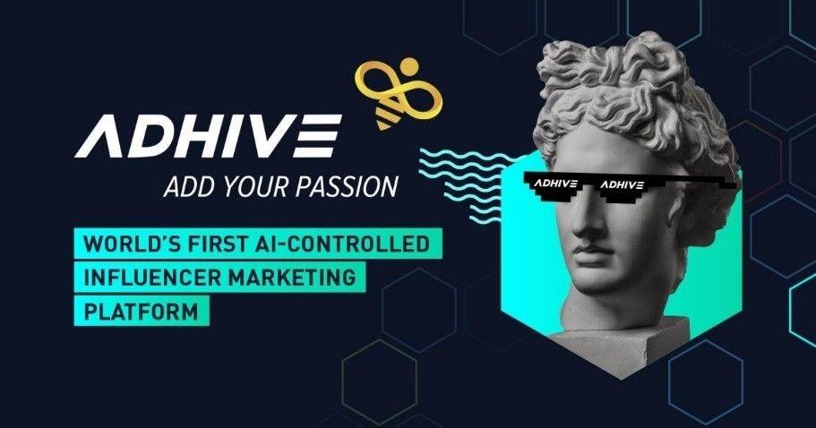 AdHive: World's first AI-controlled influencer marketing platform (PRNewsfoto/AdHive)