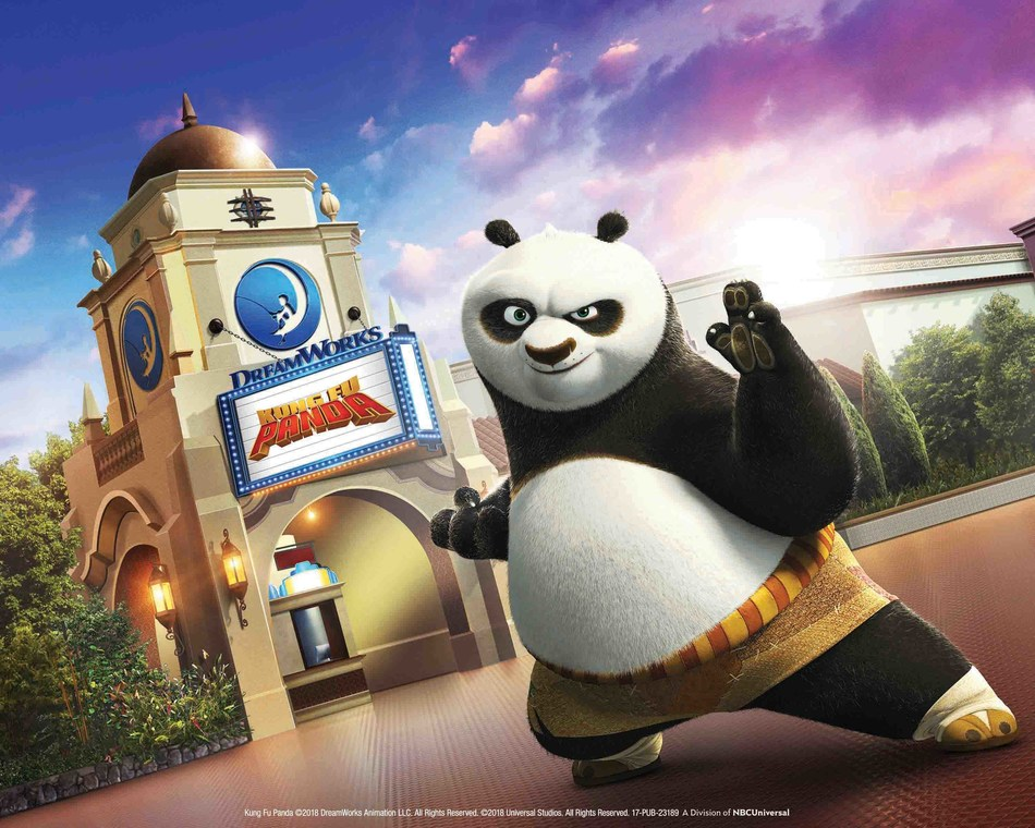 """Universal Studios Hollywood Debuts the All-New DreamWorks Theatre With the Technologically-Advanced, Immersive Attraction """"Kung Fu Panda: The Emperor's Quest"""" in Summer 2018"""