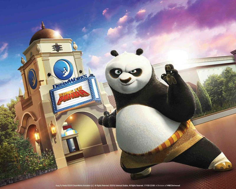 "Universal Studios Hollywood Debuts the All-New DreamWorks Theatre With the Technologically-Advanced, Immersive Attraction ""Kung Fu Panda: The Emperor's Quest"" in Summer 2018"