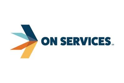 ON Services logo (PRNewsfoto/ON Services)