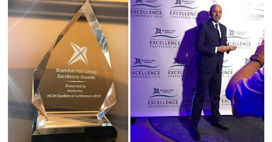 Vretta and Humber College win Gold Award for Best Advance in Custom Content : Addressing the Numeracy Gap through Immersive Technology Solutions (CNW Group/Vretta Inc.)