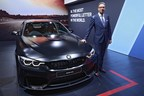 Mr. Vikram Pawah with the new BMW M4 Coupe (PRNewsfoto/BMW India Private Limited)