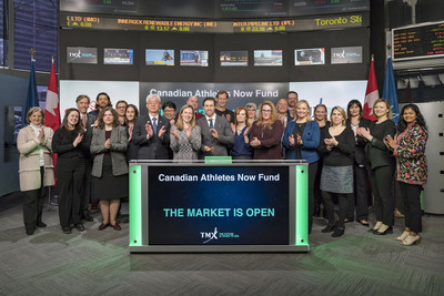 Canadian Athletes Now Fund Opens the Market (CNW Group/TMX Group Limited)