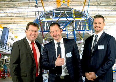 For the fourth consecutive year, Chemetall has been awarded the highest supplier award in the Airbus Supply Chain & Quality Improvement Program called SQIP. The award was handed over to Christoph Hantschel, Global Product Manager Aircraft Sealants & CICs, Hendrik Becker, Global Aerospace Manager, and Nicholas Cush, Global SIOP Manager.(C) Airbus