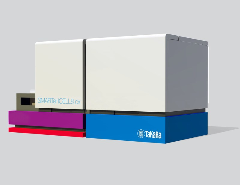 The SMARTer™ ICELL8® cx System is a compact open platform with integrated imaging, single-cell collection, and well-processing capabilities.