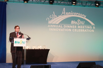 Andrew L. Pecora, M.D., FACP, CPE, president, Physician Enterprise and chief innovations officer at Hackensack Meridian Health, was honored with the 2018 Dr. Sol J. Barer Award for Vision, Innovation and Leadership at BioNJ�s 25th Annual Dinner Meeting and Innovation Celebration, networking event and innovation celebration.