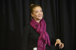 NPR Journalist Michele Norris speaks at Bunker Hill Community College