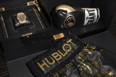 BIG BANG UNICO TMT Yellow Gold Jewellery (PRNewsfoto/Hublot)