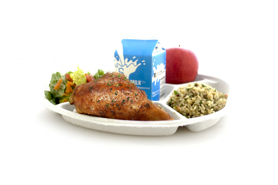 Urban School Food Alliance Compostable Plate