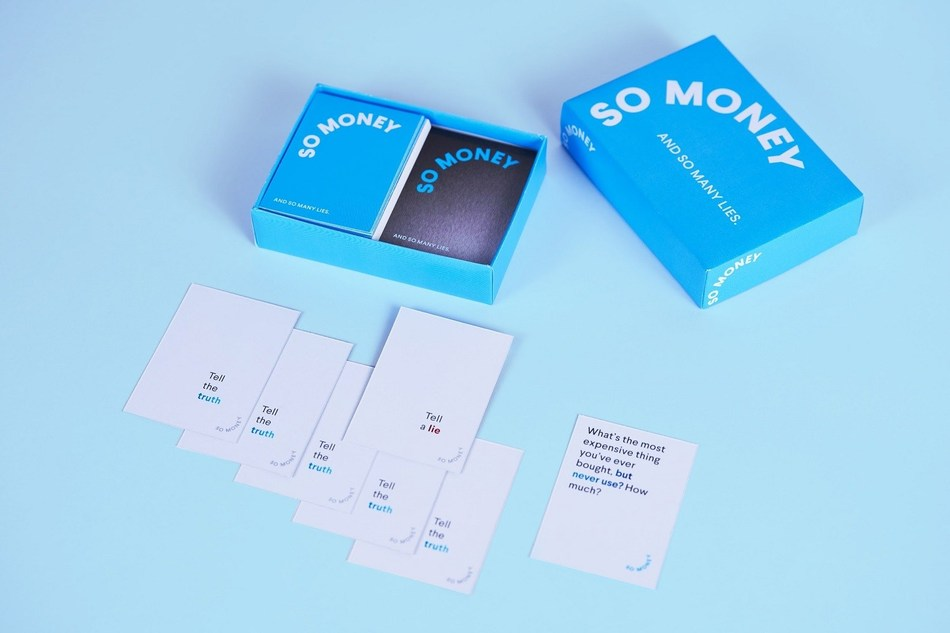 SoFi's first-ever card game, 'So Money', encourages open conversation about finances