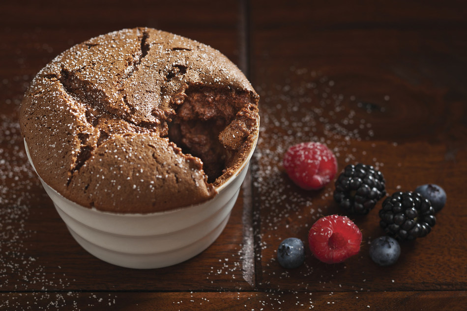 Dark Chocolate Souffle