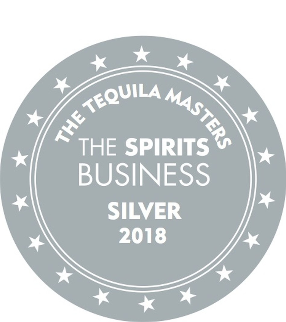 Silver Medal for Rooster Rojo, given by the annual tequila tasting competition 'Tequila & Mezcal Masters 2018'. (PRNewsfoto/Amber Beverage Group)