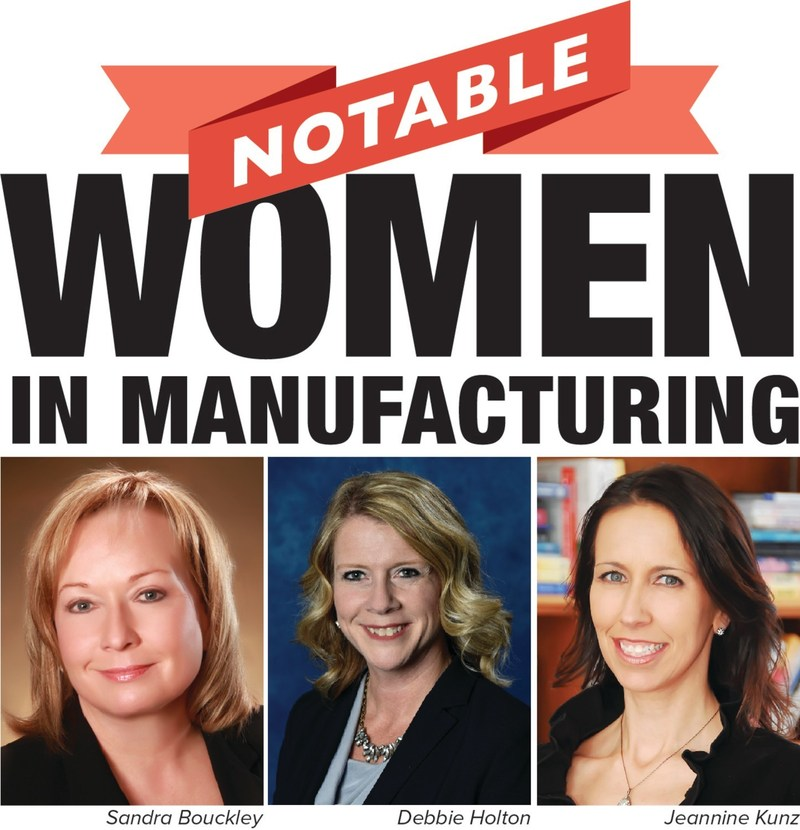 SME's Sandra Bouckley, Debbie Holton and Jeannine Kunz were recognized as 2018 Notable Women in Manufacturing by Crain's Detroit.