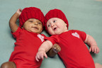 "Huntington Hospital Babies ""Go Red"" for Heart Month"