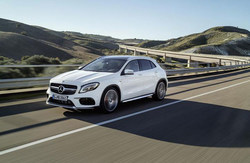 New vehicles like the 2018 Mercedes-Benz GLA compact crossover are available with competitive lease pricing for a limited time at Mercedes-Benz of Kansas City.