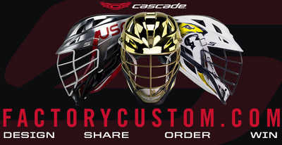 The S helmet is available through Cascade's 48-hour factory custom manufacturing at a starting retail price of $289. Visit FactoryCustom.com for a full selection of color and component options and to make your own custom team design.