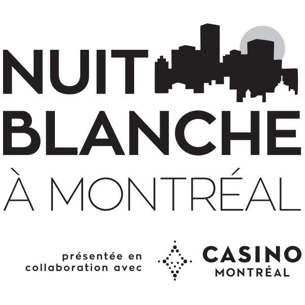 Logo: Nuit blanche à Montréal (CNW Group/Musée d'art contemporain de Montréal)