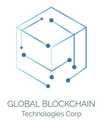 Global Blockchain Technologies Corp. Logo (PRNewsfoto/Global Blockchain Technologies)