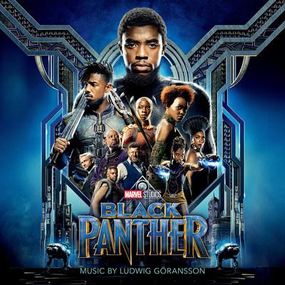 Marvel Studios Black Panther Original Motion Picture score soundtrack artwork