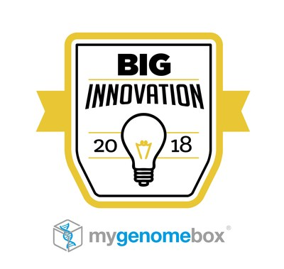 MyGenomeBox Wins 2018 BIG Innovation Award