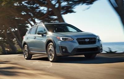 Subaru nommée Meilleure marque grand public pour la quatrième année de suite dans le cadre de la remise des prix ALG 2018 sur les valeurs résiduelles au Canada. (Groupe CNW/Subaru Canada Inc.)