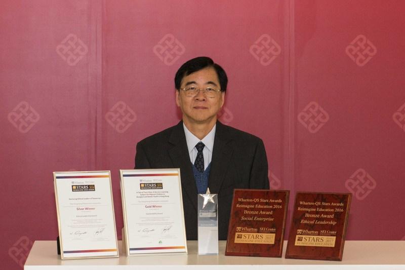 Professor Daniel Shek, Associate Vice President (Undergraduate Programme), PolyU (PRNewsfoto/The Hong Kong Polytechnic Univer)