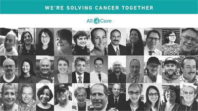 All4Cure: A growing and transparent network of patients, clinicians and researchers, working together to solve cancer.