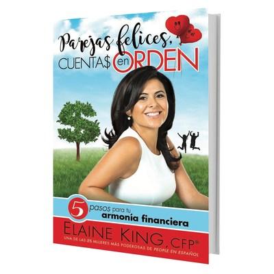 Portada de Parejas felices, cuentas en orden por Elaine King. (PRNewsfoto/HarperCollins Espanol)