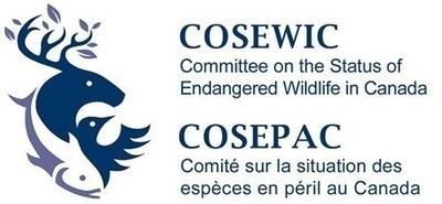 Logo : Comité sur la situation des espèces en péril au Canada (Groupe CNW/Comité sur la situation des espèces en péril au Canada)