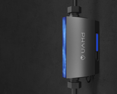 Through a combination of high-definition pressure sensing and machine learning, Phyn Plus detects leaks and plumbing issues and can automatically shut off the main water supply when needed to prevent costly damage.