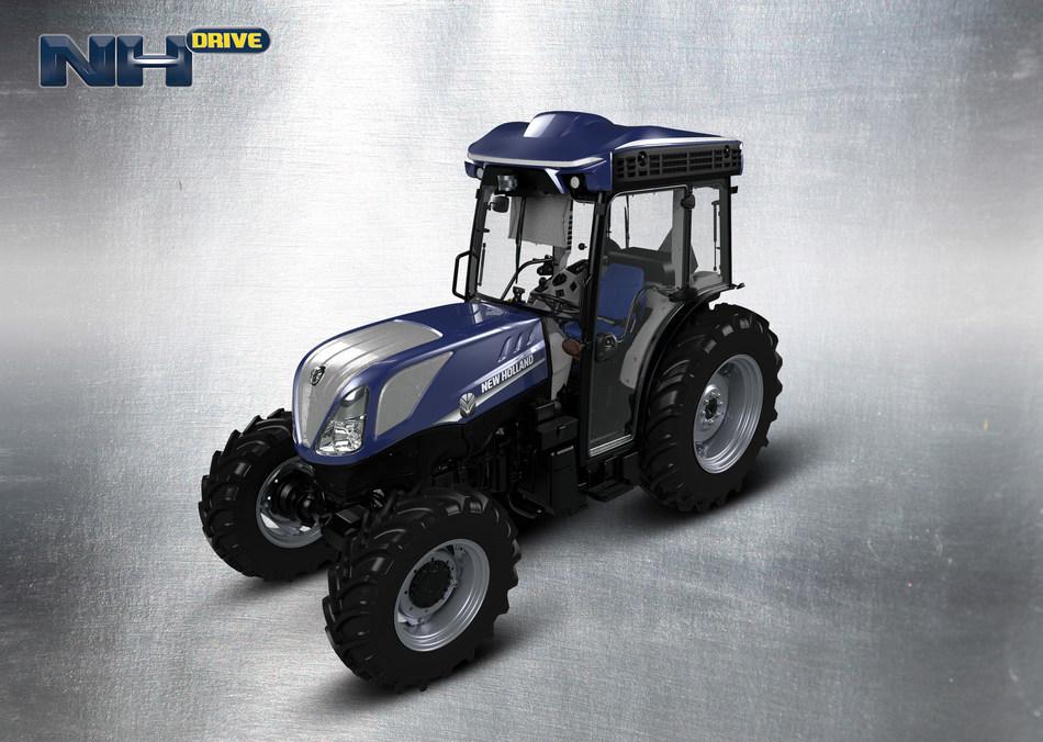 NHDrive autonomous tractor as shown on the T4F platform