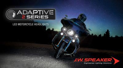 https://mma.prnewswire.com/media/641741/JW_Speaker_Adaptive_2_Series_Motorcycle_Headlights.jpg?p=caption
