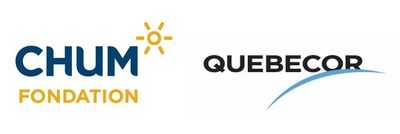 Logo: Fondation du CHUM, Quebecor (CNW Group/Fondation du CHUM)