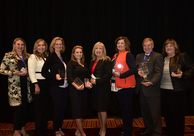 From Left to Right: Kelea Youngblood, Roxie Glen, Rita Klein, Heather Konopka-Chaves, Angela Williams, Ed Moore, Mary Miner
