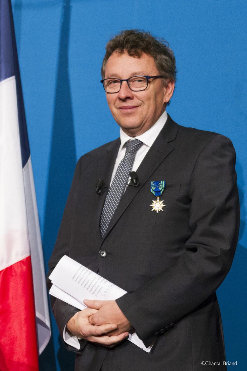 Saint-Pierre et Miquelon, le 2 février 2018. – Le ministre délégué aux Affaires maritimes, M. Jean D'Amour. (Groupe CNW/Cabinet du ministre délégué aux Affaires maritimes)