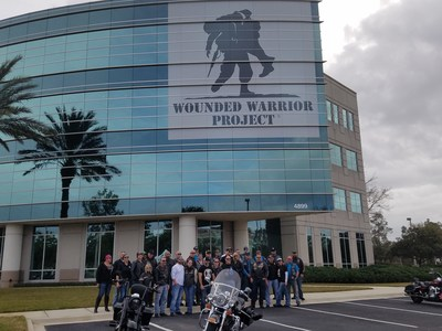 Motorcycle enthusiasts from around the Southeast came together at a recent event hosted by Adamec Harley-Davidson® in support of Wounded Warrior Project® (WWP).
