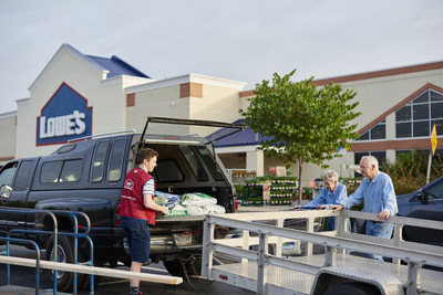 Lowe's is hiring more than 53,000 employees to help customers during spring – the busiest time of year for home improvement projects. Lowe's employs nearly 250,000 people across its U.S. stores and provides career advancement opportunities at all levels.