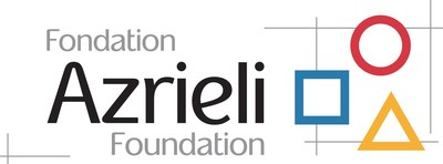 Logo: Azrieli Foundation (CNW Group/Brain Canada Foundation)