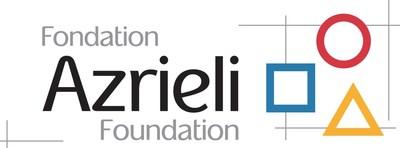 Logo : Fondation Azrieli (Groupe CNW/Fondation Brain Canada)