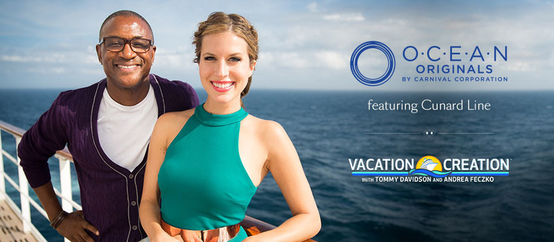 Cunard's Queen Mary 2 Featured on TV Series Vacation Creation