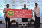 Unveiling the logo of Recyclable Packaging (PRNewsfoto/Adani Wilmar)