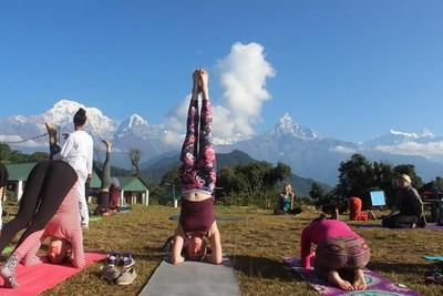 Yoga Teacher Training in Nepal (PRNewsfoto/Rishikul Yogshala)