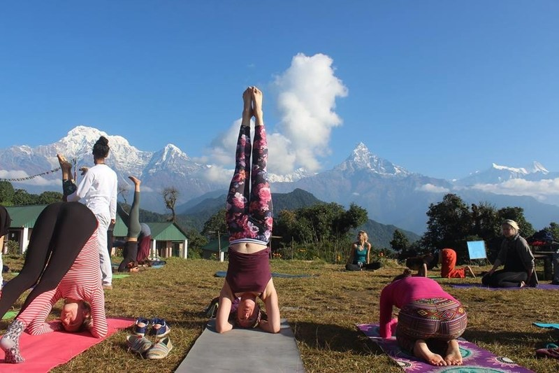 Yoga Teacher Training in Nepal (PRNewsfoto/Rishikul Yogshala)
